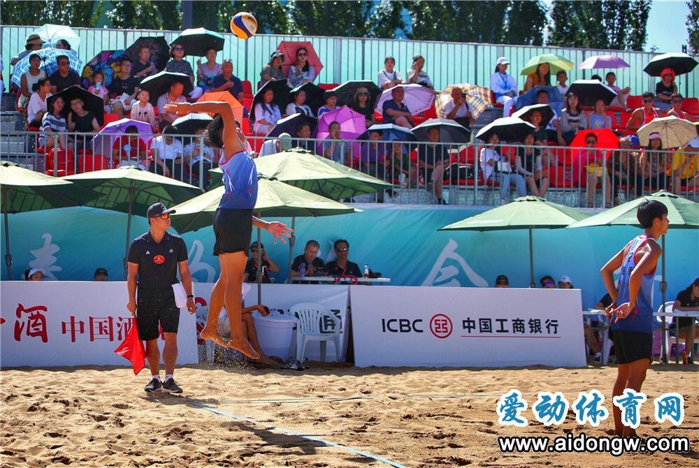 【二青会】海南4对沙排组合闯入半决赛 男沙赢在坚强 女沙留住希望