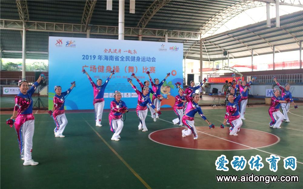 陵水体育代表队参加2019年海南省全民健身运动会取得多项好成绩