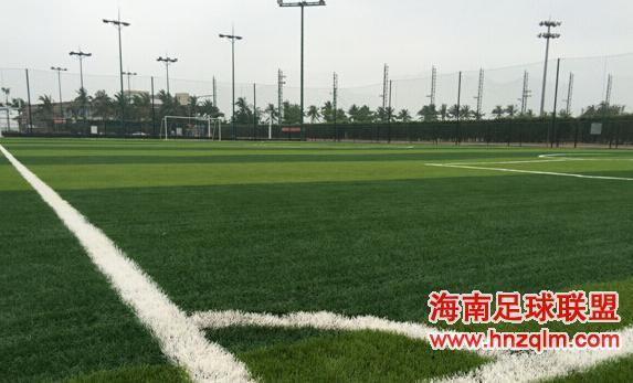 海口编制足球发展规划 加大足球场地建设力度