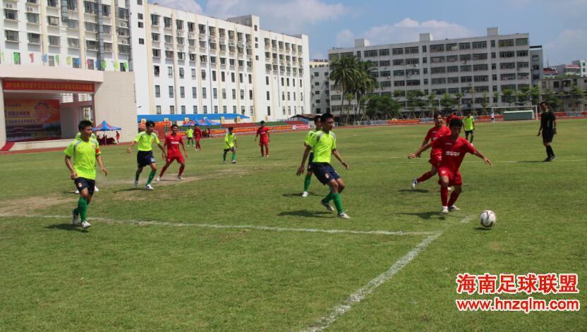 2015海南省中学生足球赛高中组小组赛前两轮比分