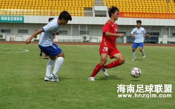 海口灵山中学夺省校园足球活动月高中组调赛冠军