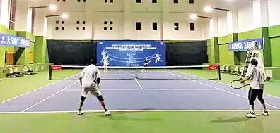 中国业余网球公开赛海口钻石赛开拍