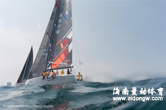 海帆赛上高科技---记录大赛精彩瞬间