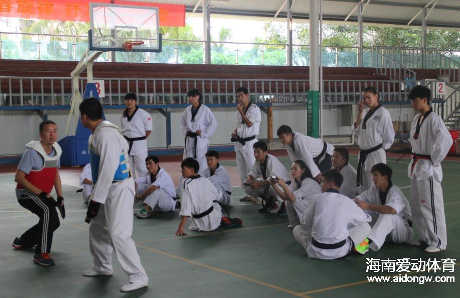 [跆拳道]探营:2015年海南省少年跆拳道锦标赛各项准备工作就绪