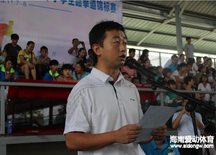 【跆拳道】黎凯:为全国少年跆拳道比赛选拔海南人才