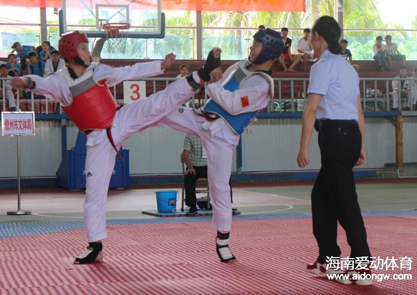 【跆拳道】2015海南省少年跆拳道锦标赛落幕