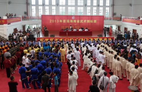 2013首届海南省武术锦标赛图片集锦(一)