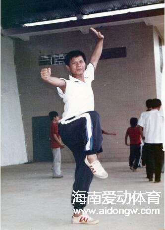 【社会体育指导员典型人物】澄迈武术传道士李达峰