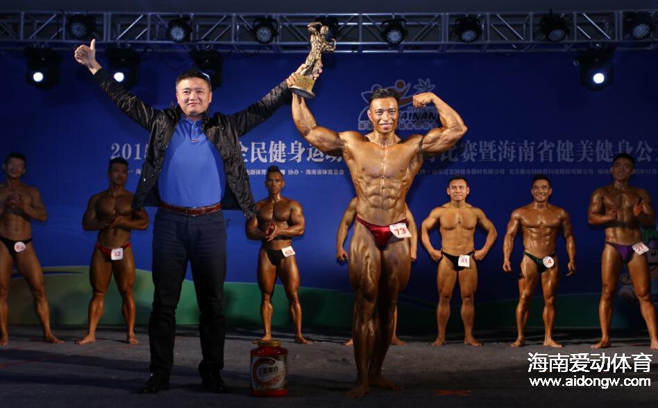 海南省健美健身公开赛落幕 新起点裕平达队获得团体冠军