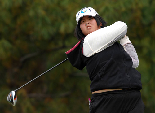 【高尔夫】全国业余高球总决赛 海南关汝晴女子组折桂