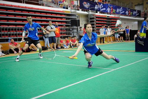 【羽毛球】全国羽毛球业余俱乐部总决赛在陵水开拍