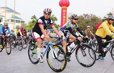 三亚自行车邀请赛收官  全国各地300名选手参加