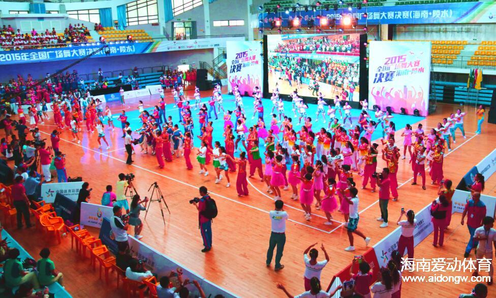 首届海南省健美操锦标赛成功举办 标志我省全民健身操舞运动步入新发展