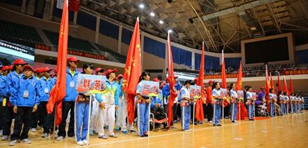 陵水举办残疾人运动会 来自11个乡镇300余名运动员参与