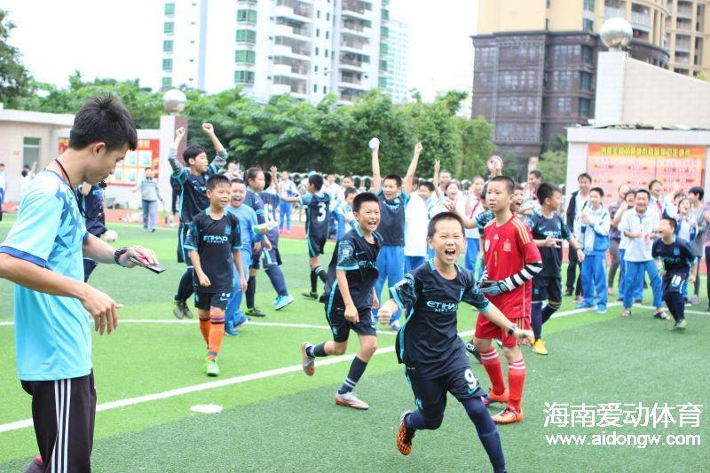 海口市滨海九小首届校园足球文化节活动成功举办