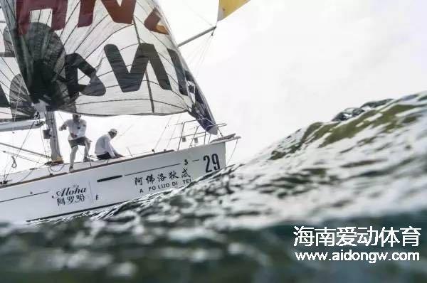 """环海南岛国际大帆船赛 入围""""中国最佳商业赛事""""提名"""