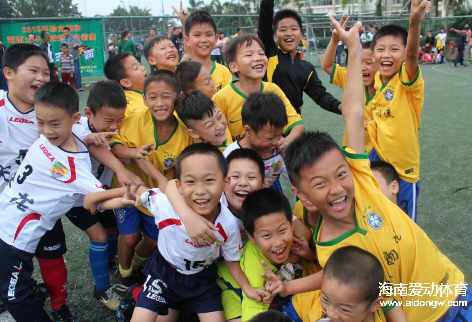 海南少年足球争霸赛-英才A队VS二十七小