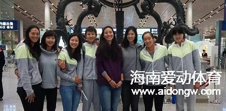 从三亚再出发!中国女子沙排国家队赴美国开启20天冬训