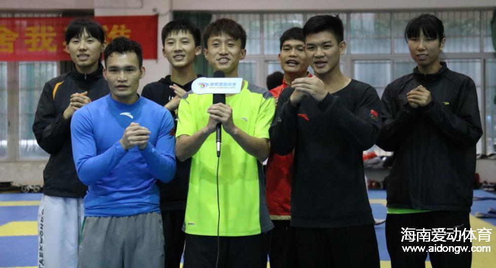 过年不休假!海南省跆拳道、拳击等队备战  与外省训练队切磋