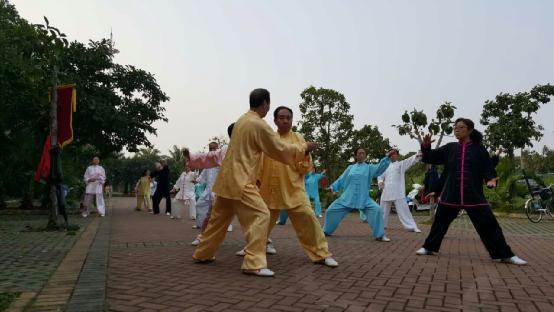 白沙门太极拳辅导站举办公益培训班 六步教学法深受欢迎