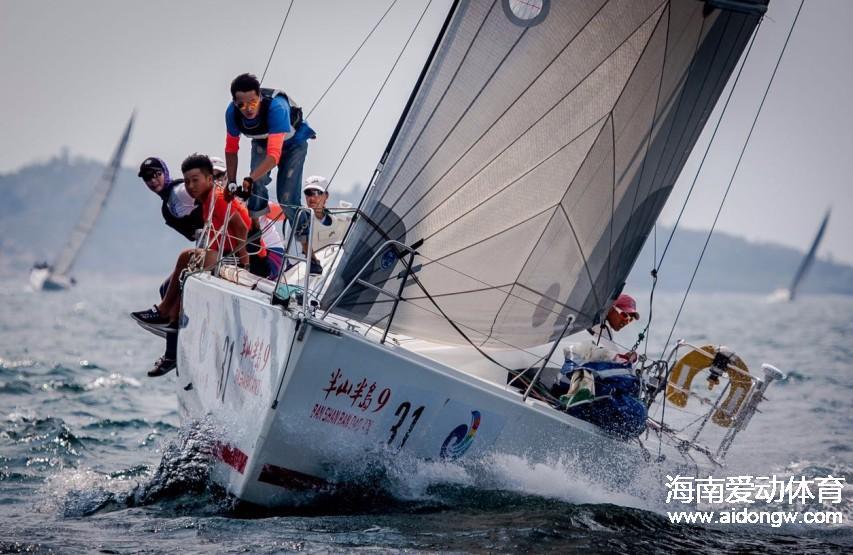 """""""阿罗哈杯""""2016第七届环海南岛国际大帆船赛部分参赛船队巡礼"""