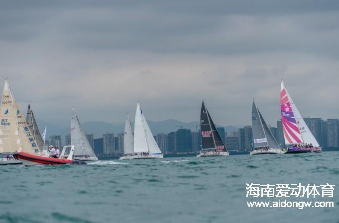 海帆赛:三亚场地赛落幕 16日IRC4-6组开启万宁拉力赛