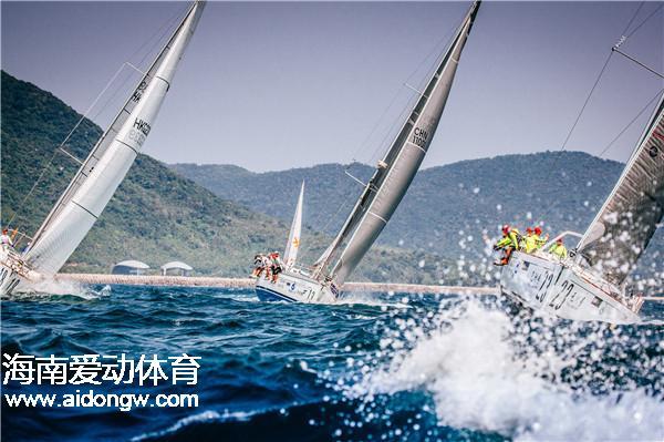 【帆船】海帆赛topper对抗赛:40名帆船小选手追风逐浪