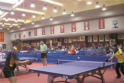 第二届全国乒乓球友好邀请赛在三亚开赛
