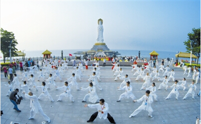 【武术】三亚南山首届世界太极文化节9日开幕 32个国家近两千名选手齐聚三亚