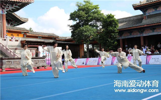 【武术】第十三届国际导引养生功比赛在北京举办  海口代表队斩获4项金奖