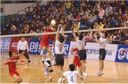 中国大学生排球赛海师力克卫冕冠军