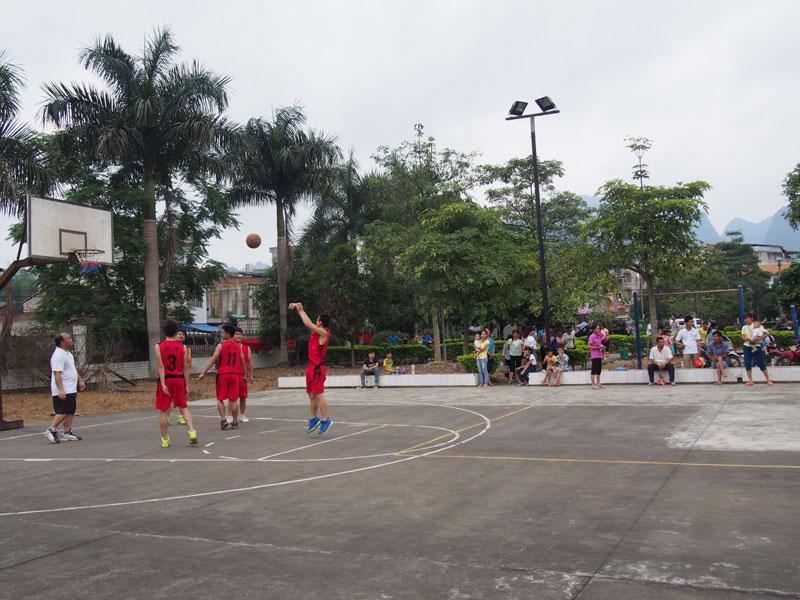 2016年海南省全民健身运动会农民男子篮球赛4月27日在儋州举行