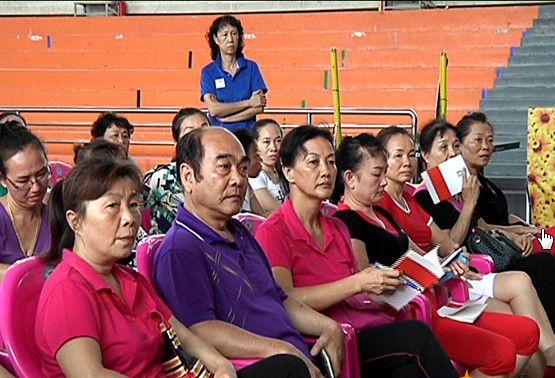 2016年海南省全民健身广场舞巡回培训班三亚开班
