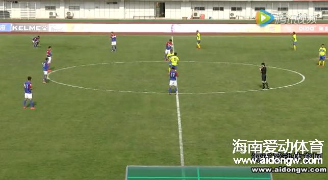 【视频】2016中乙联赛第二轮海口博盈海汉VS四川安纳普尔那全场集锦