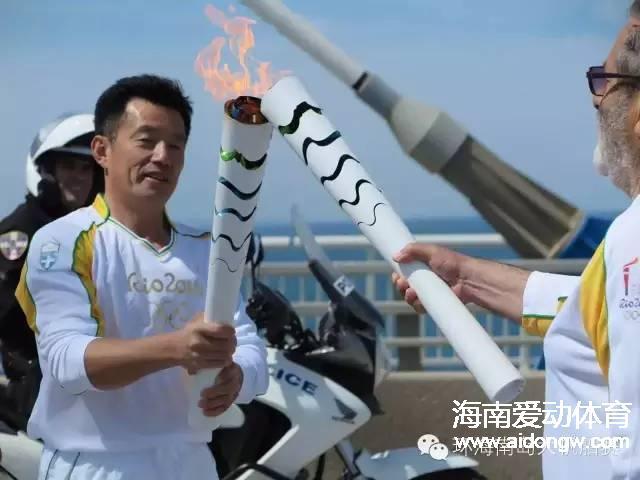【帆船】海帆赛形象大使郭川担任里约奥运会火炬手