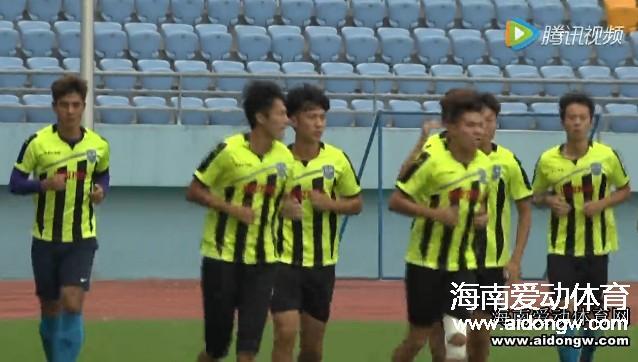 【视频】海南博盈海汉出征梅县客场踩场