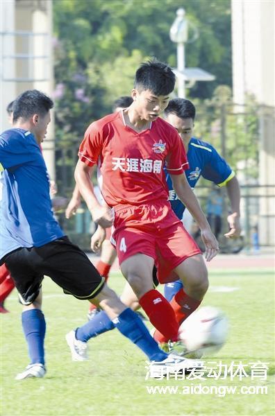 【足球】2016海南省高校足球邀请赛开幕 全省8所高校足球队参赛