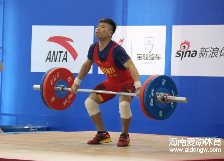 2016年全国青年举重锦标赛落幕 海南选手夺4金