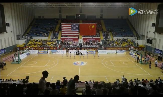 【视频】中美篮球海口对抗赛 中国八一VS美国瑞琪全场录像