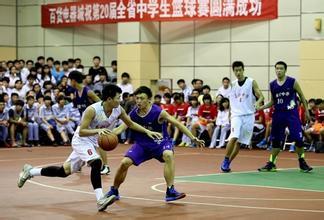 2016年海南高中生篮球联赛5月10日开打39支球队参加日常的初中生图片