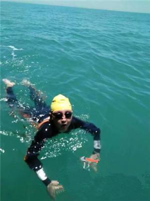 海口12岁儿童成功横渡琼州海峡 耗时近13小时
