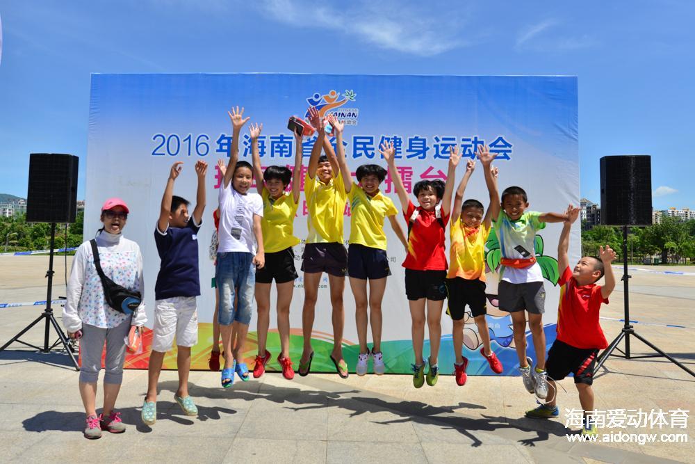 2016年海南省全民健身运动会将全面启动 环岛健身大擂台火遍全岛