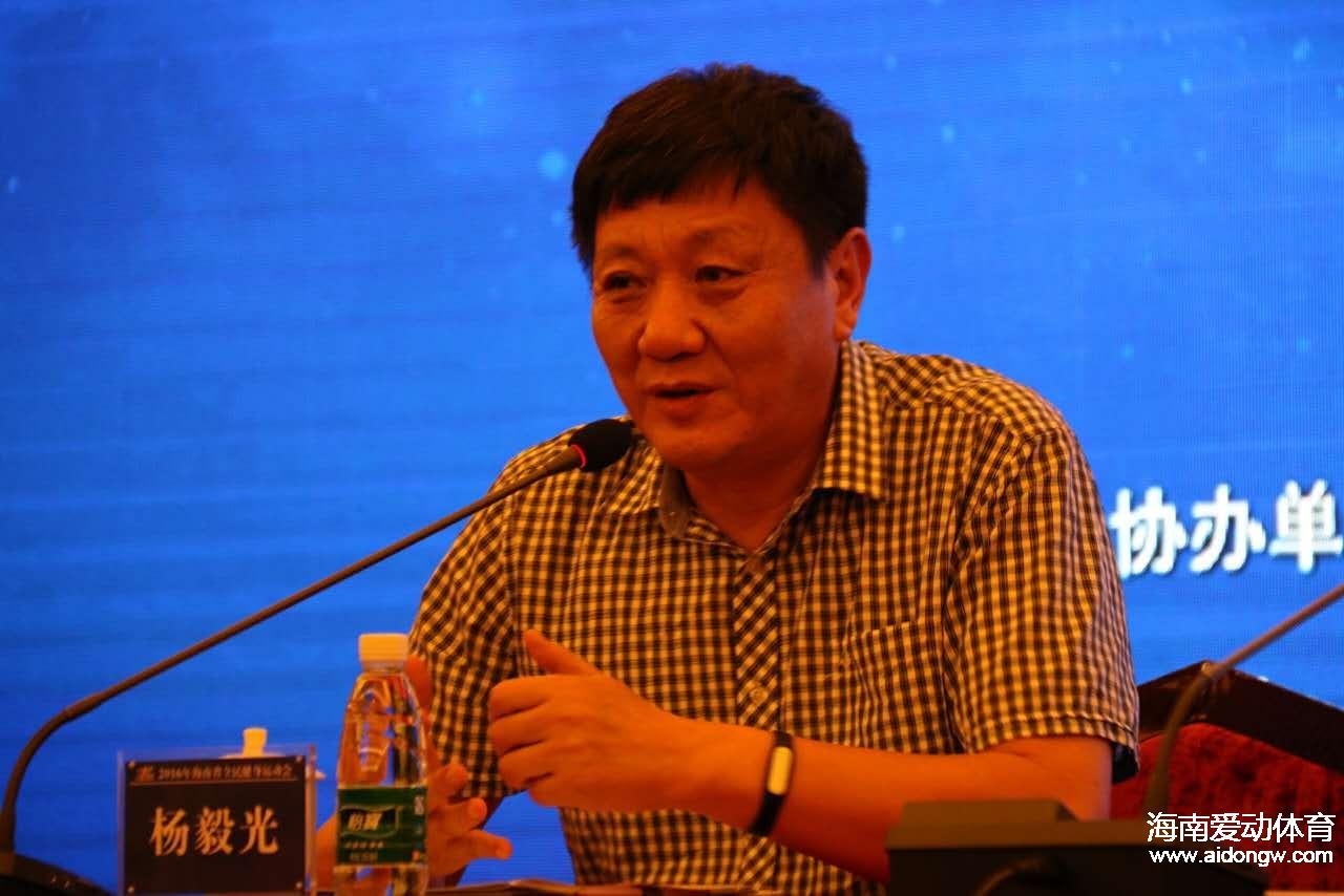杨毅光:比赛越草根越有群众参与