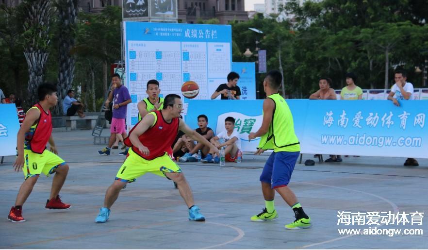 《球照》海南省全民健身运动会三对三篮球联赛万宁赛区开赛