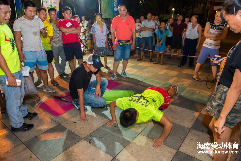 2016年海南省全民健身运动会开幕式暨全民健身活动日竞赛日程出炉