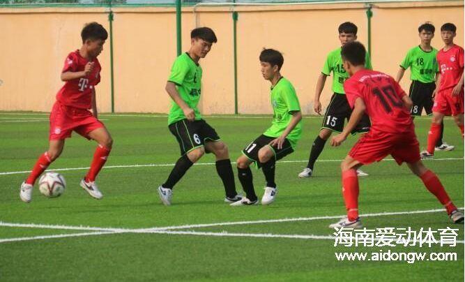 2016年海南省青少年男子足球锦标赛8月10日开战