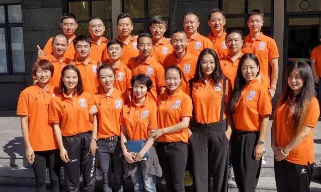 2016年全国学校体育教练员赴美留学项目行前集训在京举行