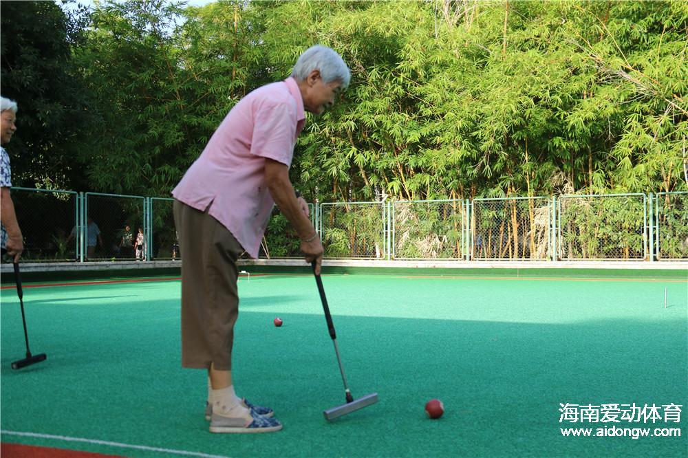 2016年海南省全民健身运动会第四届门球公开赛9月16日举行