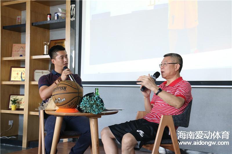 【访谈】海口篮球协会会长万长松:夯实篮球群众基础 规范联赛运作