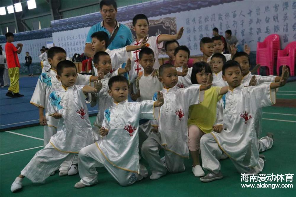 2016年海南省全民健身运动会武术公开赛琼中举行  全省48支队700余名武术爱好者参赛